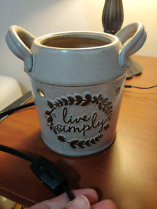 Scentsy wax melter (top missing)