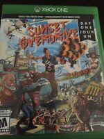SUNSET OVERDRIVE day one and WALKING DEAD