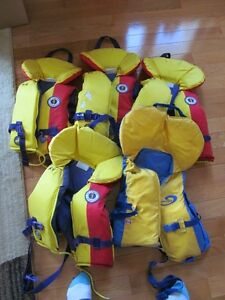 Life Jackets, Adults and Kids