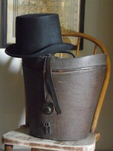Victorian Top Hat Travel Box and Hat- Hope Brothers Ltd.
