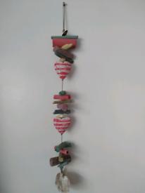 Driftwood hanging rope