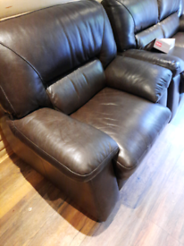 Leather suite