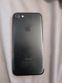 iPhone 7 cracked screen