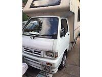 Daihatsu hijet campervan