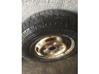4 x transit wheels with tyres