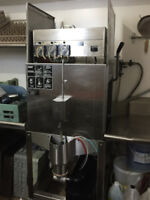 CMA low temp chemical dishwasher, new lower price