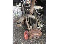 Bmw e39 rear axle