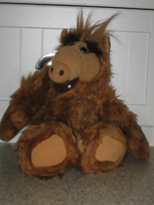 "Alf Plush Toy....""Hey Lucky, Come Here!"""