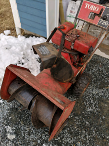 Toro 726 Snowblower Needs Work