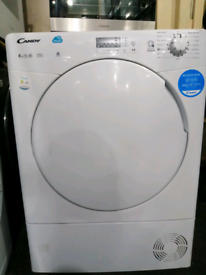 ➡️➡️OFFER⬅️⬅️WHITE 8KG CANDY SMART CONDENSER TUMBLE DRYER ONLY £120