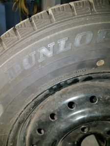 Winter tires 215/70r15 with steel rims
