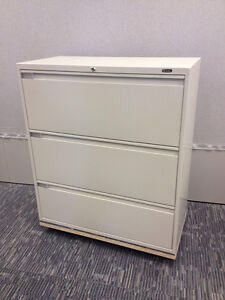 Filing cabinet Global 9100P 36 light beige 3 available $400