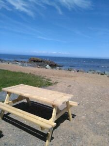 Trailer for rent by the sea at Green-Point, NB