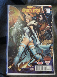 Age of Apocalypse #4 Signed by Editor Joe Quesada