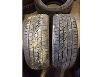 235/50/18 part worn tyres Coleraine