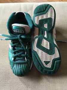 Adidas Pro Model - Size 7 Mens - Celtic Green Patent Leather Prince George British Columbia image 1