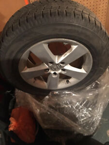 215 65 16 Winter Tires with Rim good condition $580