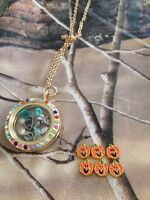 Floating locket charms