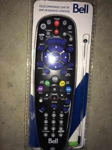 Brand New Bell Satellite IR/UHF Remote With UHF Antenna