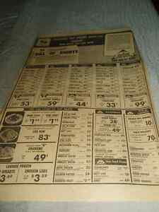 STEINBERG GROCERY STORE AD OF FEB. 1973 West Island Greater Montréal image 2