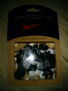 Nike football cleats n wrench