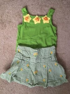 Gymboree girls size 6 2  piece outfits