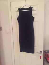 Maternity size 12 navy blue dress