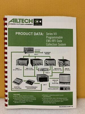 Ailtech Series Vii Programmablee Emirfi Data Collection System Manual