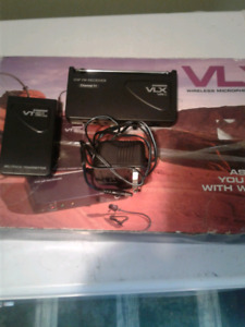 VLX wireless microphone components