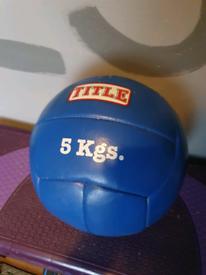 5kg exercise ball