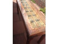INDIAN RUSTIC TABLE