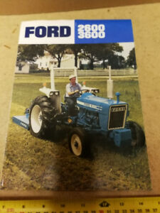 FORD TRACTOR 2600 & 3600 SERIES BROCHURE