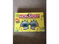 SpongeBob monopoly BNIB