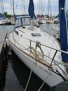 Cal 28 Sailboat