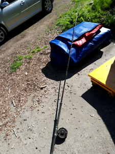 Adults 10 foot 6 fishing rod and reel