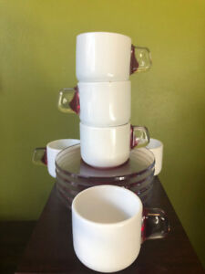 Modern Espresso cups and saucers