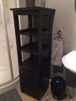IKEA shelf unit in espresso