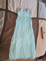 Beautiful Blue Prom Dress Worn Once!