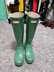 Hunter boots (size 7)*** sold!