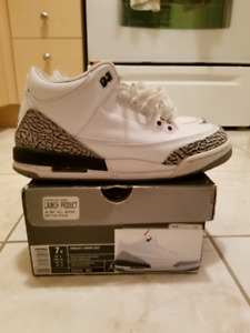 Air Jordan Cement 3 -- Size 7Y $130