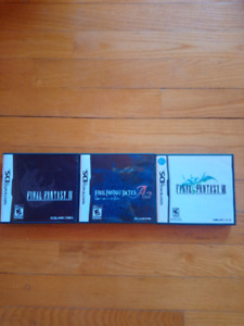 Lot jeu final fantasy ds