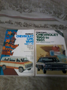 Old Vehicle Service Manuals