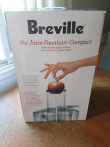 Breville juice fountain compact BJE200XL 70$