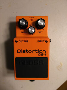 BOSS DS1 Distortion pedal in great condition.