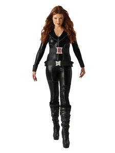Adult-12-14-Avengers-Black-Widow-New-Fancy-Dress-Costume-Superhero-Ladies-Womens