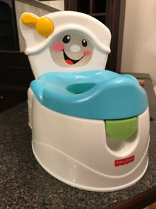 The Fisher-Price Learn-to-Flush Potty
