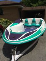 Excellent Running 96 Seadoo Sportster Jet Boat and Trailer