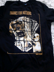 Medium t-shirt (THANKS FOR NOTHING)