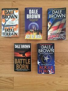Dale Brown book/novel lot (Mass Market Paperback)