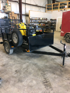 2017 Lineward Plow and 2017 Trailer